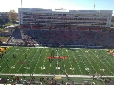 Maryland Stadium, secção: 306, fila: R, lugar: 12