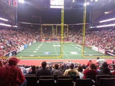 Jacksonville Veterans Memorial Arena, secção: 120, fila: S, lugar: 14