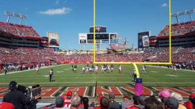 Raymond James Stadium secção 123