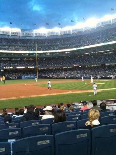 Yankee Stadium secção 126