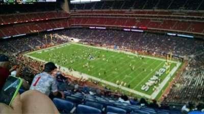 NRG Stadium secção 603