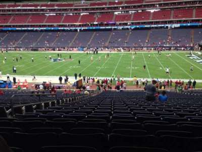 NRG Stadium secção 104