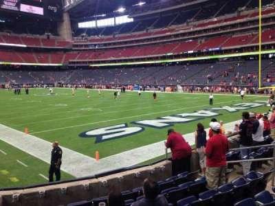 NRG Stadium secção 139