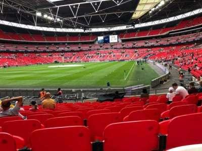 Wembley Stadium secção 108