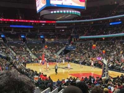 Capital One Arena secção 104