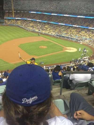 Dodger Stadium secção 27RS