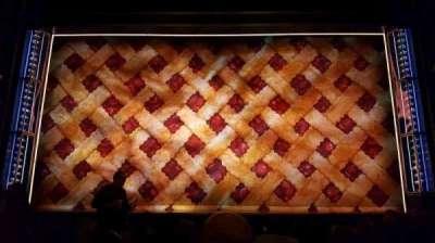 Brooks Atkinson Theatre secção Orchestra C