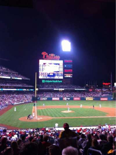 Citizens Bank Park secção 120