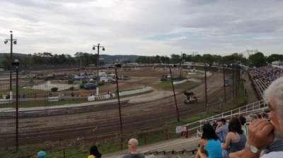 Grandview Speedway, secção: Turn 4
