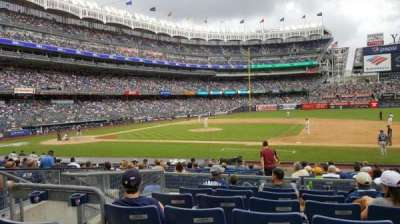 Yankee Stadium secção 115