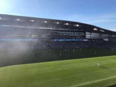 Allianz Field, secção: 115, fila: 1, lugar: 14