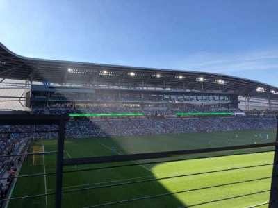 Allianz Field, secção: 118, fila: 1, lugar: 3