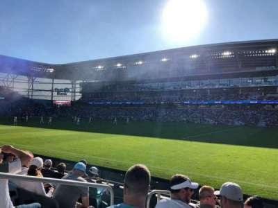 Allianz Field, secção: 109, fila: 6, lugar: 16