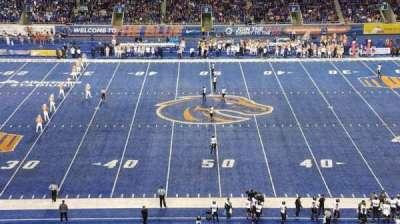 Albertsons Stadium secção 108