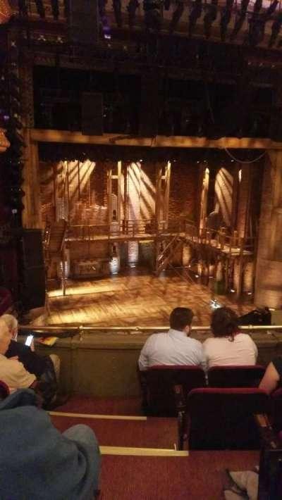 PrivateBank Theatre, secção: Mezzanine L, fila: E, lugar: 1