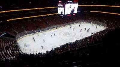 Honda Center, secção: 416, fila: n, lugar: 4