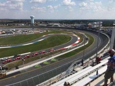 Charlotte Motor Speedway, secção: Ford Upper A, fila: 54, lugar: 9