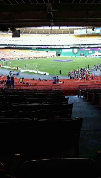RFK Stadium, secção: 315, fila: 11, lugar: 1