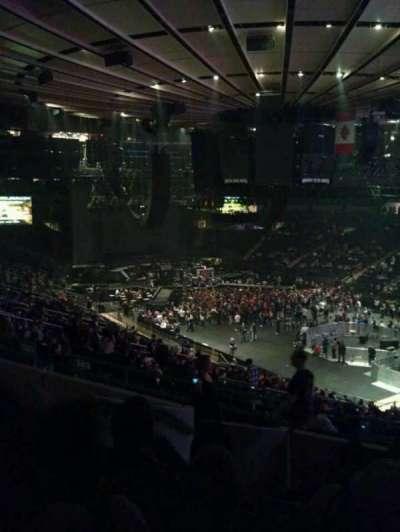 Madison Square Garden secção 303