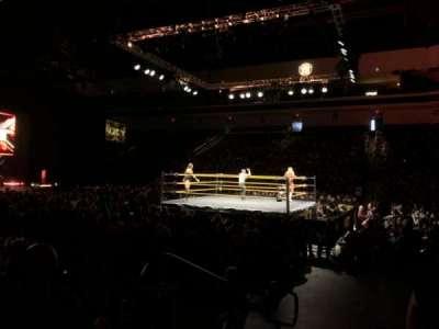 Orleans Arena secção 114