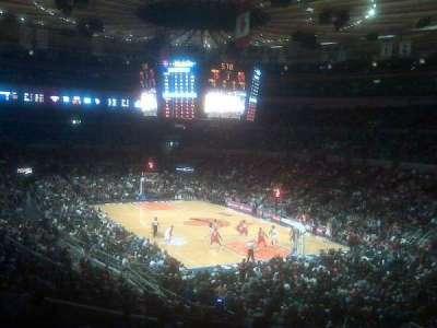 Madison Square Garden secção 120