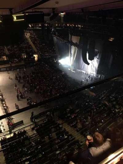 Madison Square Garden, secção: 313, fila: 2, lugar: 2