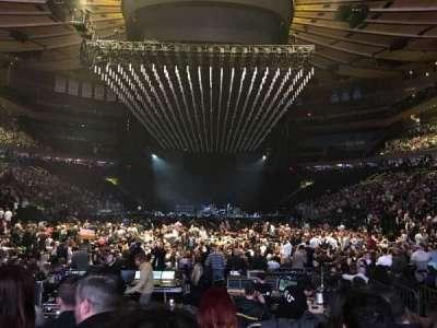 Madison Square Garden, secção: 2, fila: 15, lugar: 12