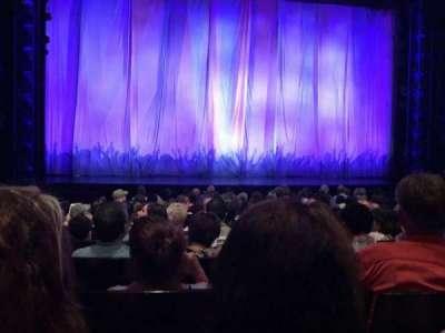Marquis Theatre, secção: Orchestra, fila: K, lugar: 106