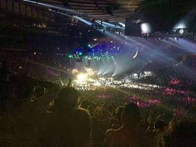 Madison Square Garden, secção: 119, fila: 22, lugar: 8