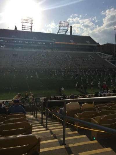 Bobby Dodd Stadium, secção: CL-4, fila: 23, lugar: 22