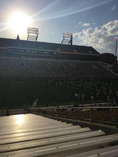Bobby Dodd Stadium, secção: 127, fila: 30, lugar: 1