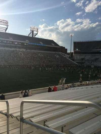 Bobby Dodd Stadium, secção: 129, fila: 22, lugar: 21