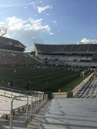 Bobby Dodd Stadium, secção: 131, fila: 22, lugar: 1