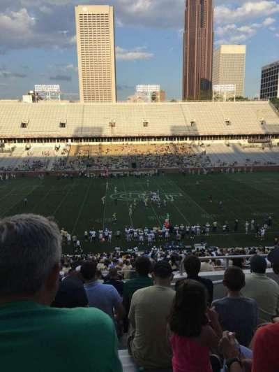 Bobby Dodd Stadium, secção: 107, fila: 45, lugar: 5