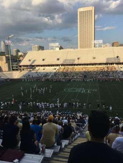 Bobby Dodd Stadium, secção: 105, fila: 44, lugar: 24