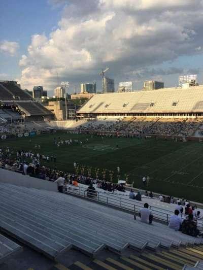 Bobby Dodd Stadium, secção: 101, fila: 44, lugar: 18