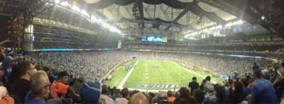 Ford Field, secção: 217, fila: 10, lugar: 15