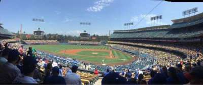 Dodger Stadium secção 119LG