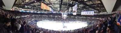 Old Nassau Veterans Memorial Coliseum, secção: 304, fila: E, lugar: 2
