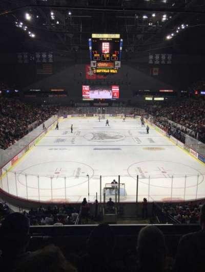 Van Andel Arena, secção: 201, fila: C, lugar: 15