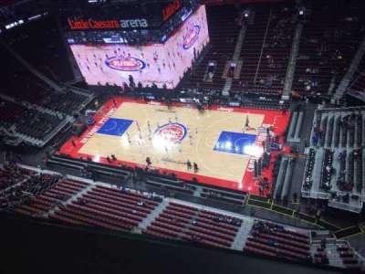Little Caesars Arena secção GPB3