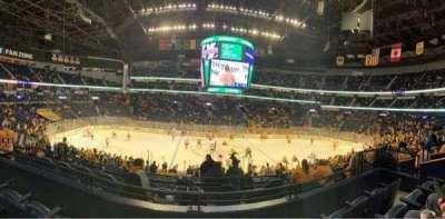 Bridgestone Arena secção 115