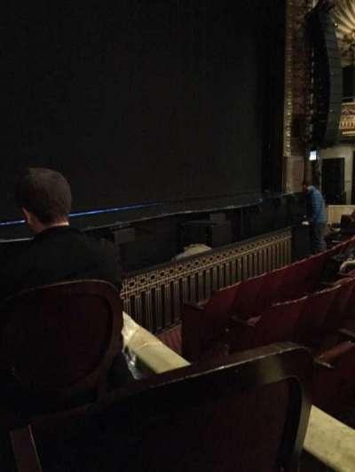 Palace Theatre (Broadway), secção: Orch, fila: E, lugar: 1