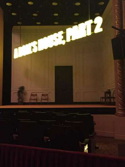 John Golden Theatre, secção: Orch, fila:  H, lugar: 10