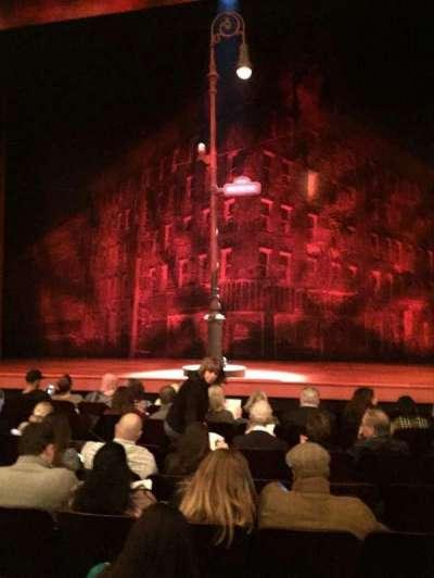 Longacre Theatre, secção: Orch, fila: H, lugar: 108