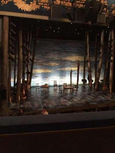 Gerald Schoenfeld Theatre, secção: Mezz, fila: B, lugar: 3