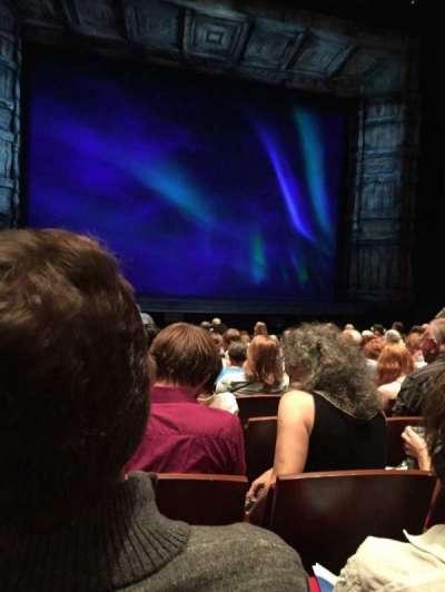 The Buell Theatre, secção: Orch, fila: K, lugar: 22