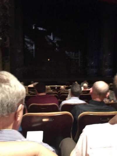 Samuel J. Friedman Theatre, secção: Orch, fila: K, lugar: 117