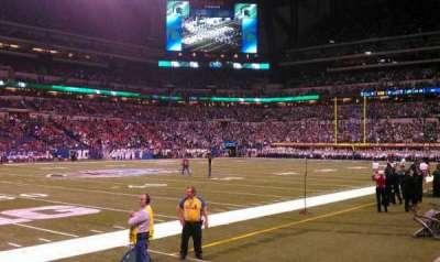 Lucas Oil Stadium secção 143