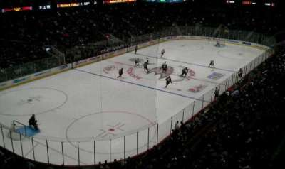 Honda Center, secção: 440, fila: A, lugar: 3